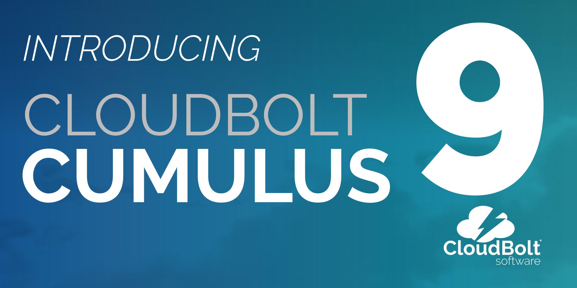 CloudBolt 9.0—Cumulus Webinar