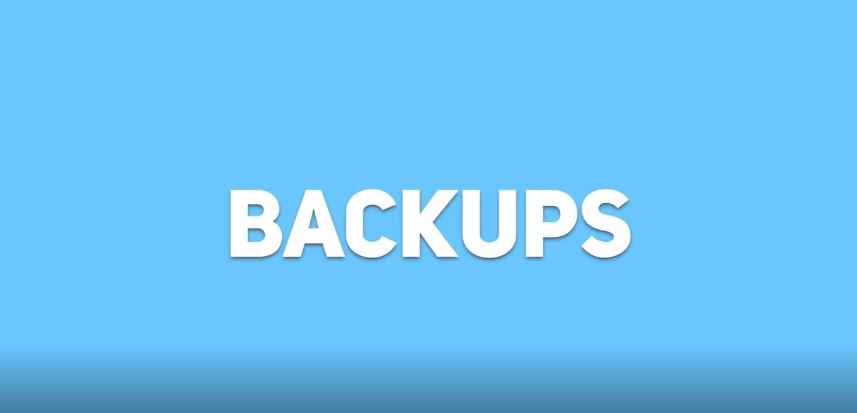 RCS - Backups
