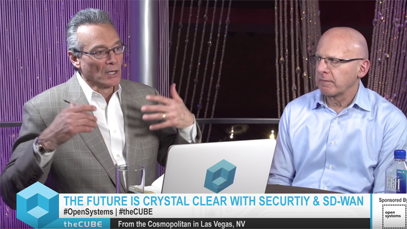 Steve Garson, SD-WAN Experts _ Open Systems, The Future is Clear with SD-WAN & Security