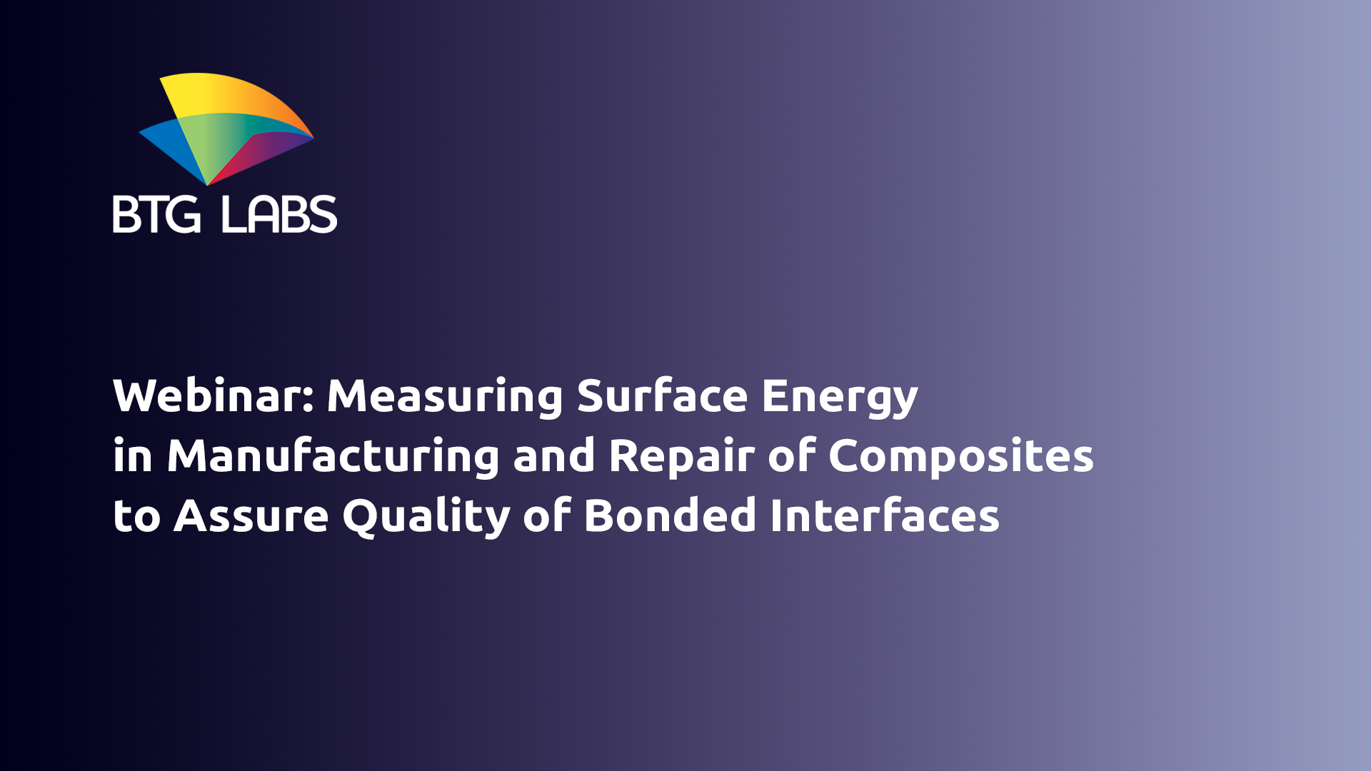 Measuring Surface Energy in Manufacturing and Repair of Composites to Assure Quality of Bonded Inter