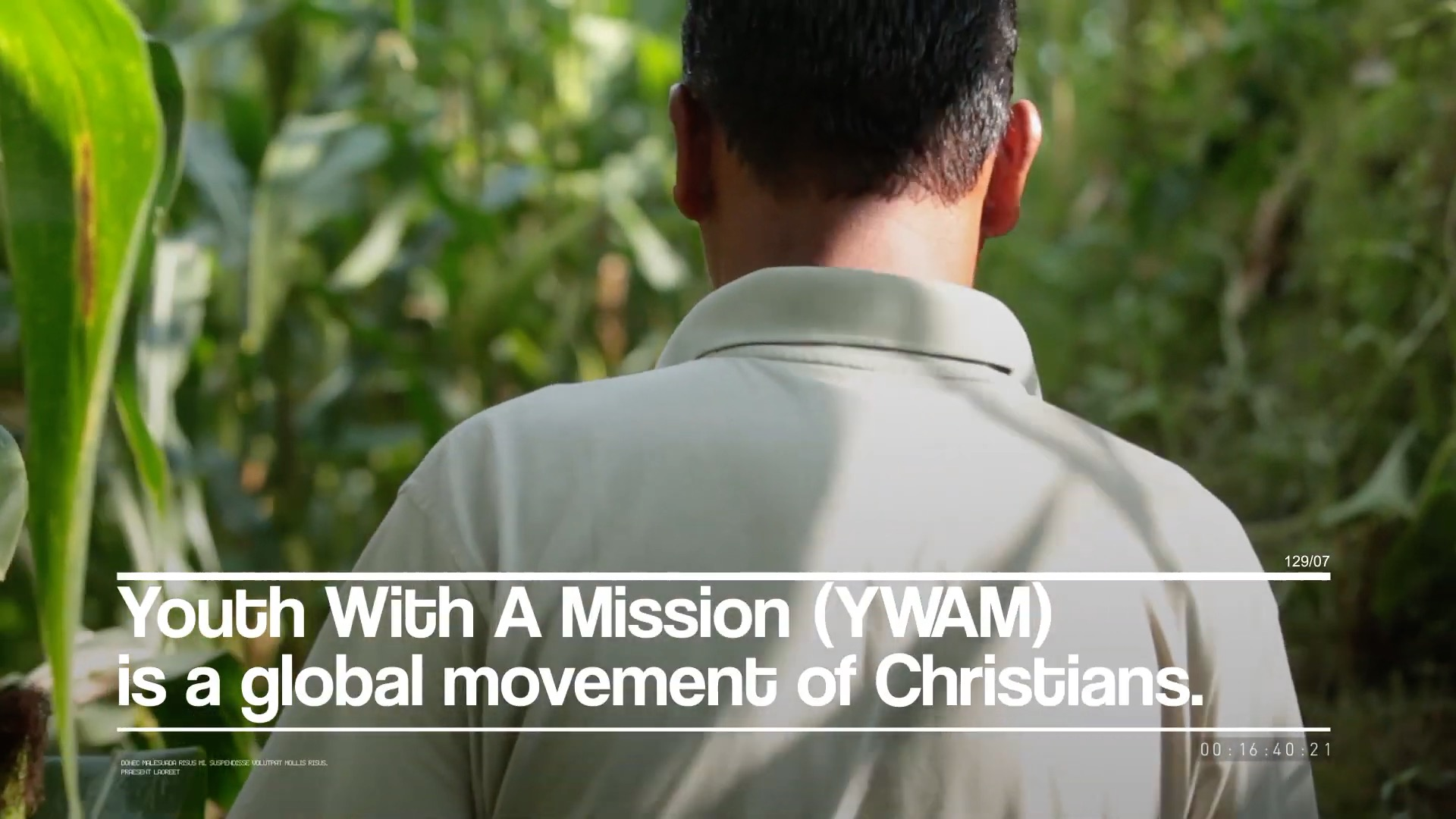 What is YWAM_ _ Youth With A Mission