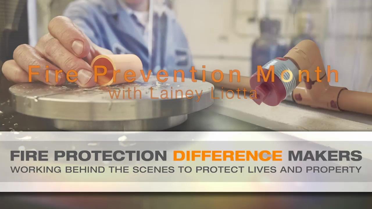 October Fire Prevention Blog with Darren Palmieri