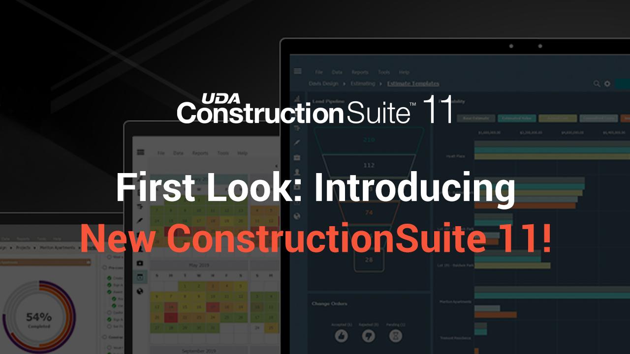 Introducing New ConstructionSuite 11