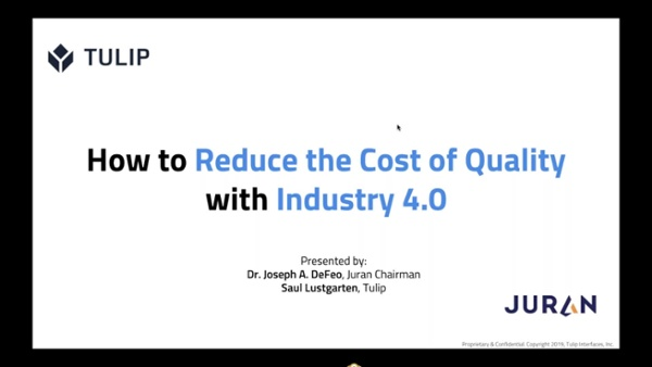 How to Reduce Cost of Quality with Industry 4_0