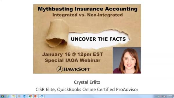 IAOA_HawkSoft Webinar_Mythbusting Insurance Accounting_01.16.2019
