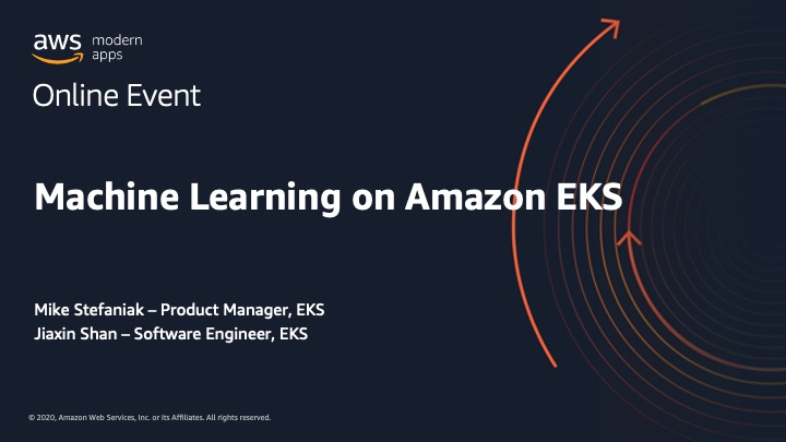 Machine Learning on Amazon EKS_Mike Stefaniak