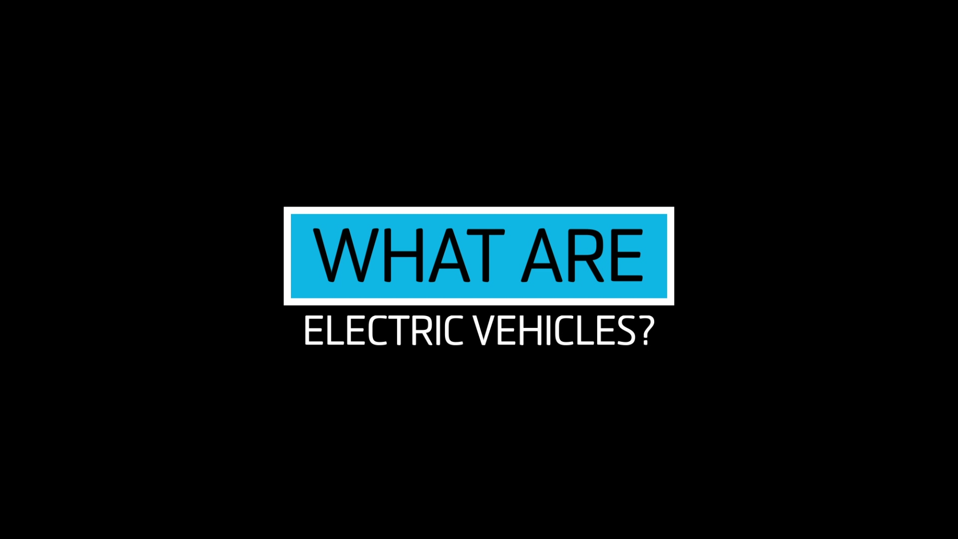 what are electric vehicles