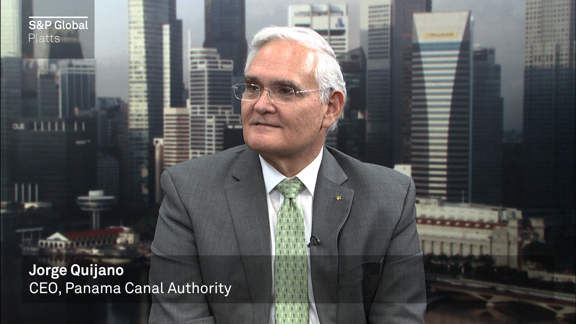 Insight Conversation with Jorge Quijano, Panama Canal Authority CEO