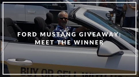 Ford Mustang Grand Prize Winner