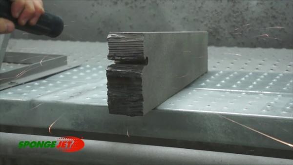 (Final) Blasting Plasma Cut Steel