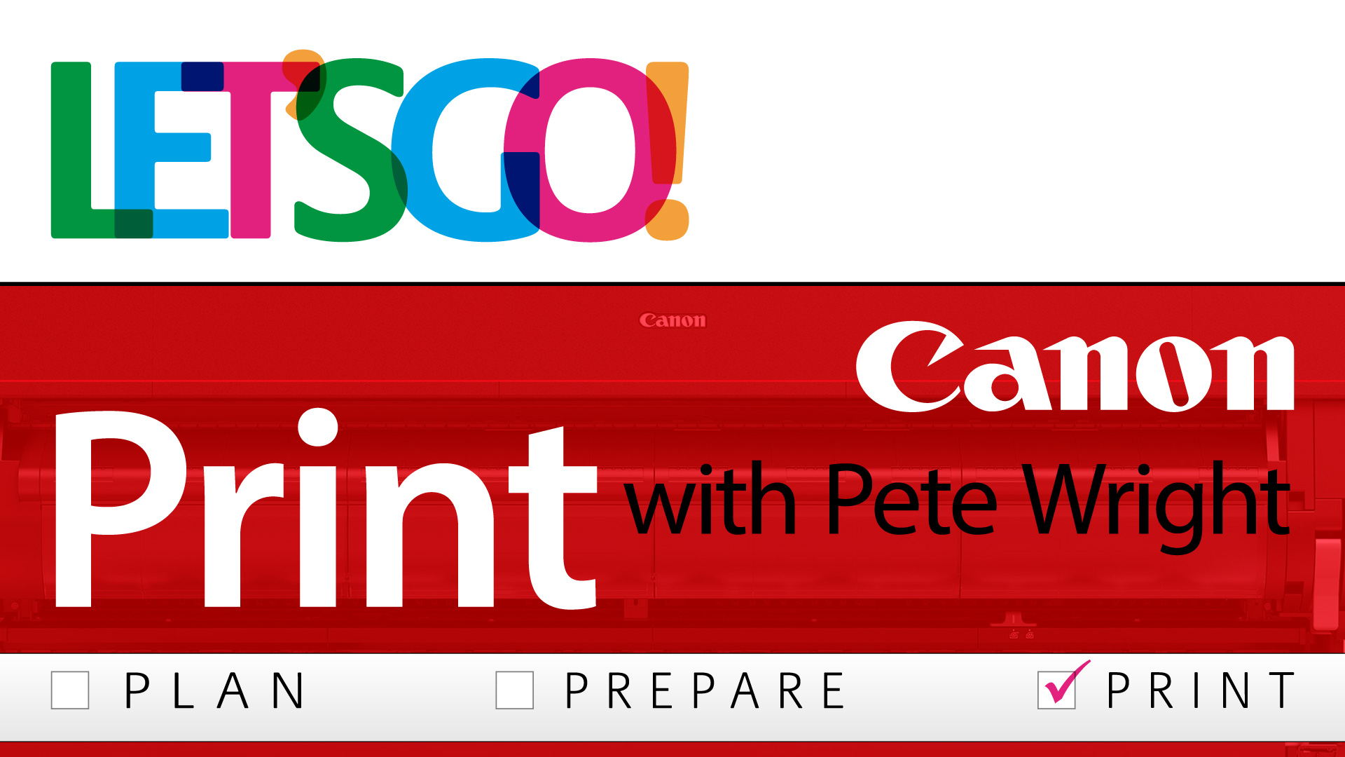 Canon Webinar Replay Life Hacks for Printmakers with Pete Wright