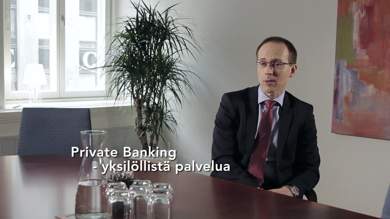 Evli Private Banking - Yksilöllistä palvelua.
