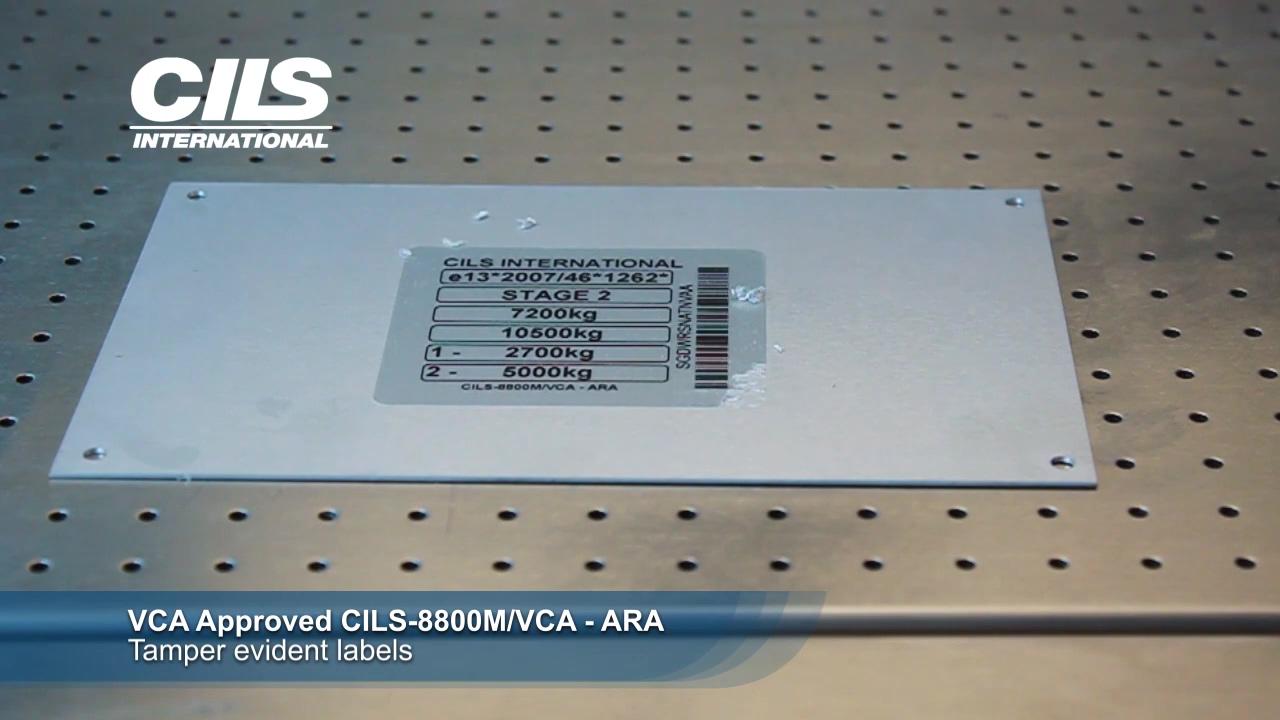 CILS-8800M VCA Tamper