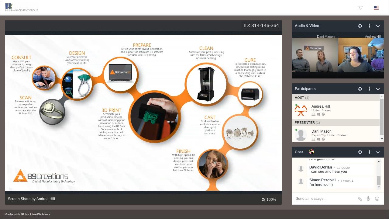 MJSA Online Learning Webinar Series- B9Creations Digital Solutions for Jewelers-1