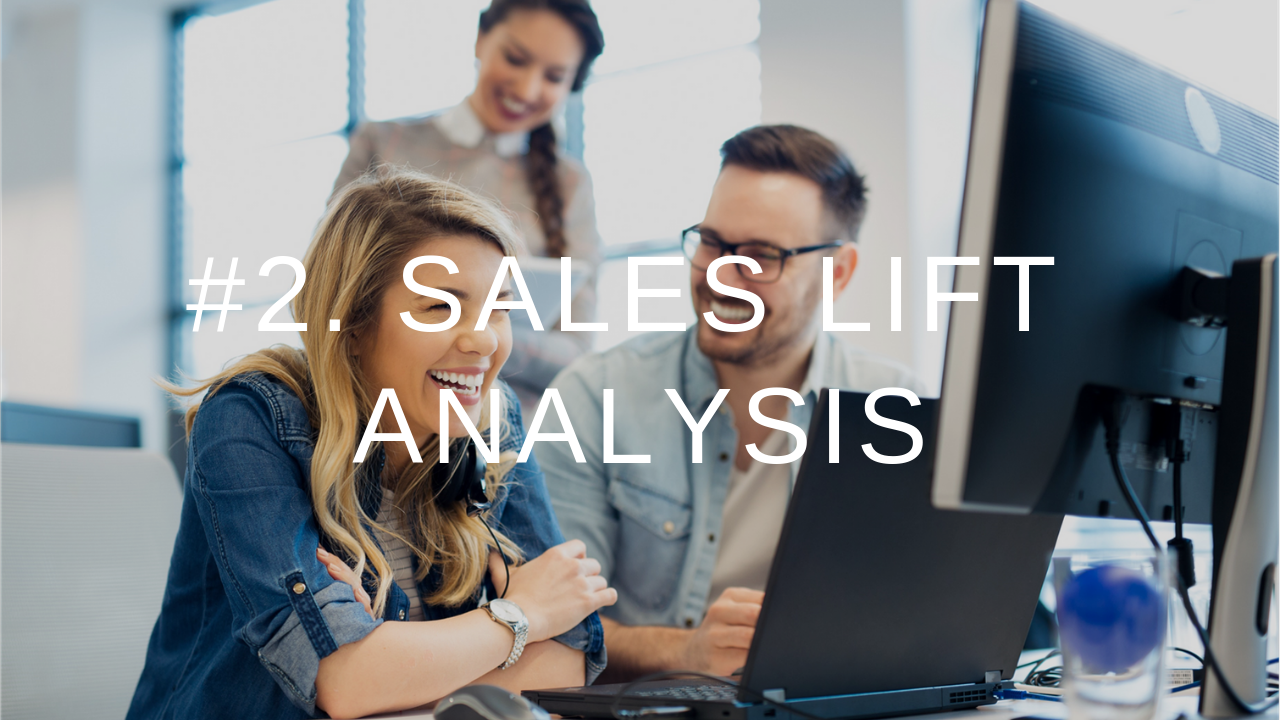 9IM Metrics 2.Sales Lift Analysis