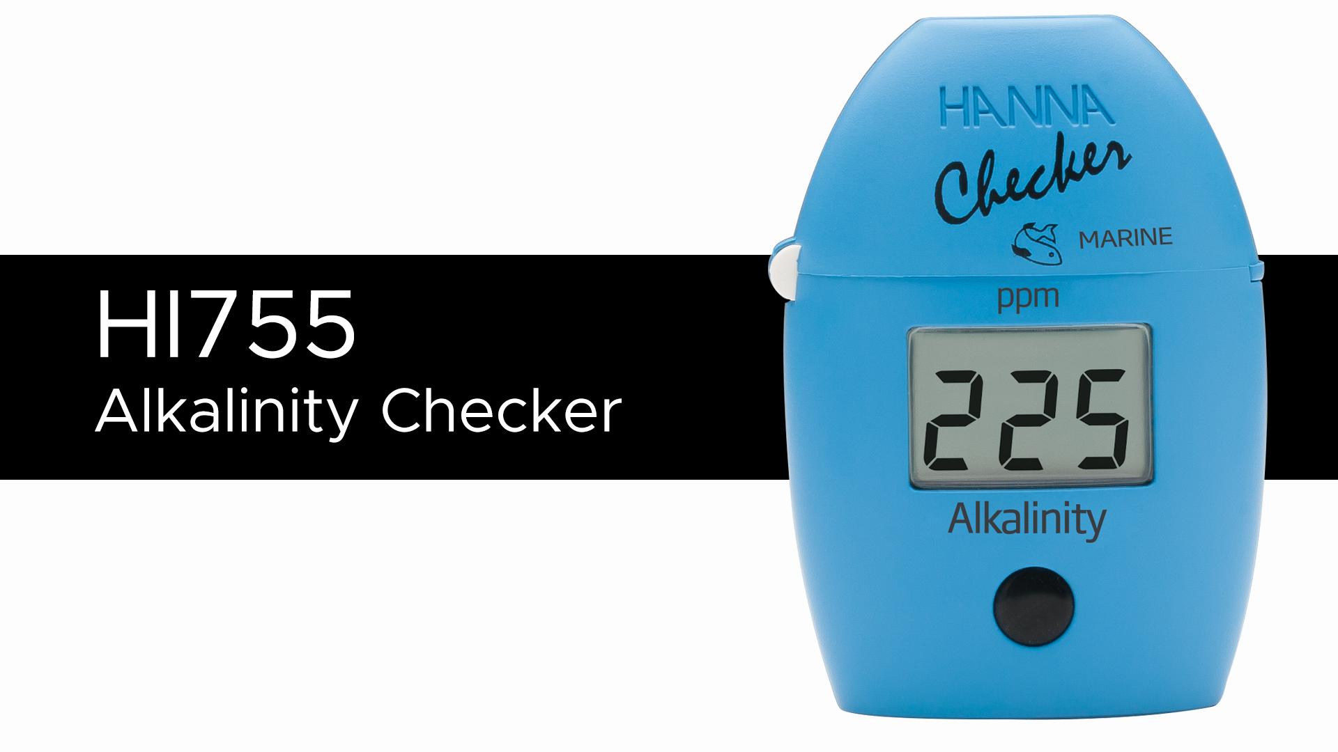 Hanna Marine ppm Alkalinity Checker® HC - HI755