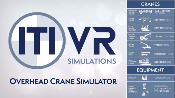 ITI VR Overhead Crane Simulator - First Look