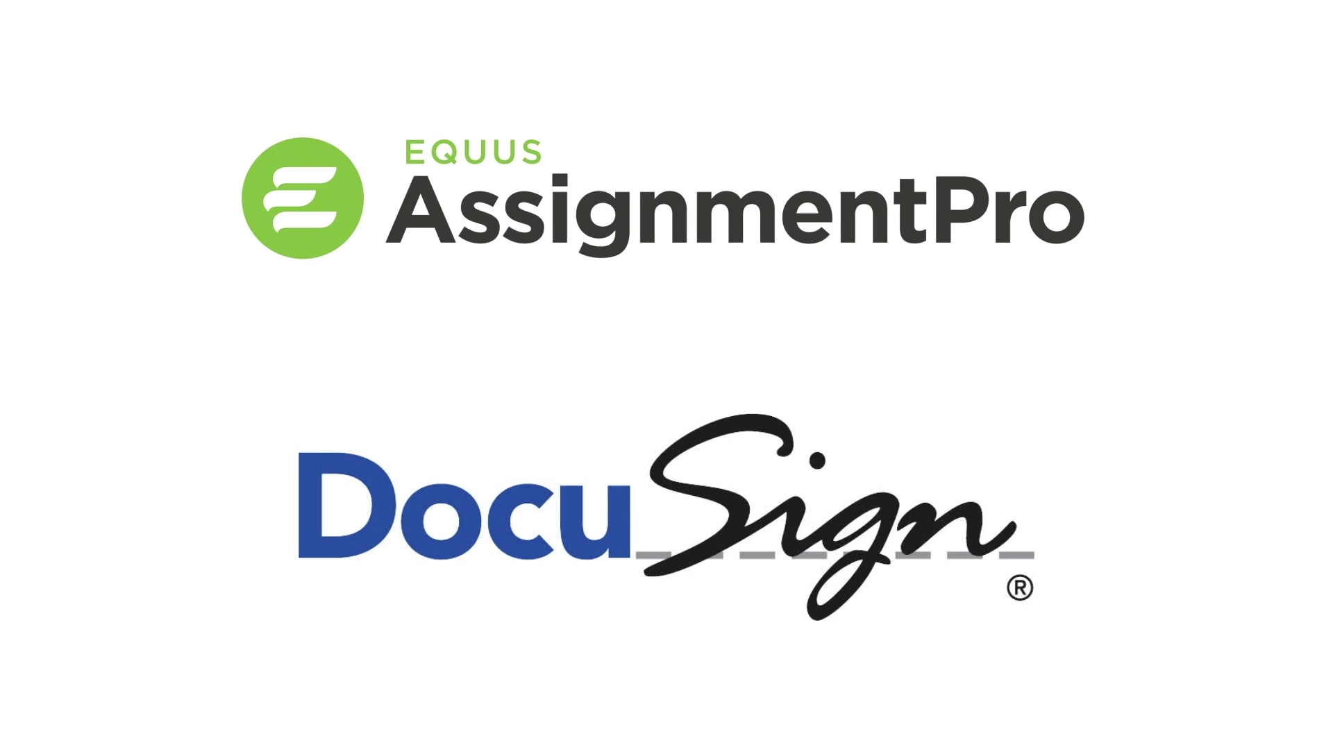 DocuSign - now integrated into AssignmentPro