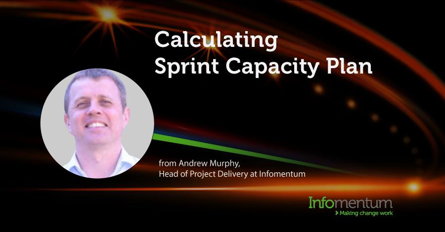 Calculating Sprint Capacity Plan video