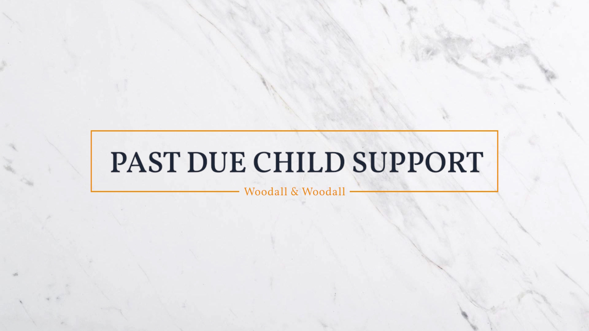 Woodall Child Support 3
