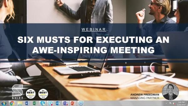Meetings - Webinar Recording