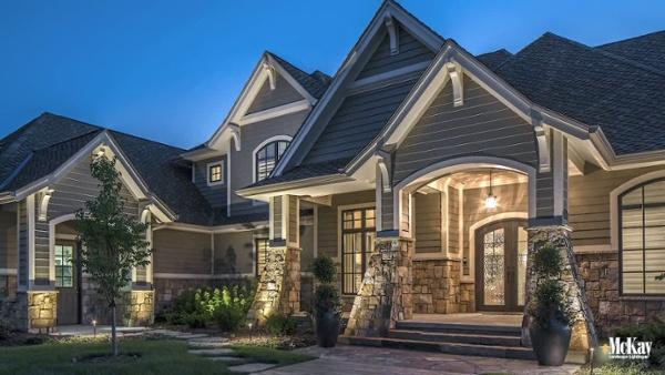 Residential Outdoor Security Lighting Omaha Nebraska McKay Landscape Lighting V 01_3