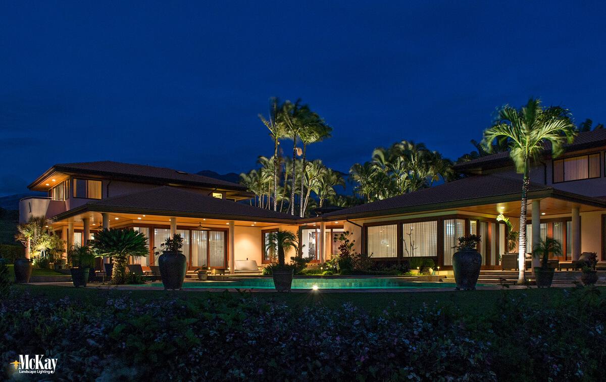Tropical Escape - Maui Landscape Lighting Design Tour_1