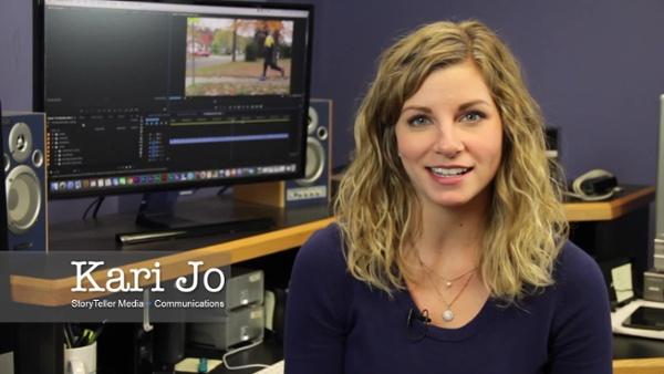 Video Blogging - Click Button