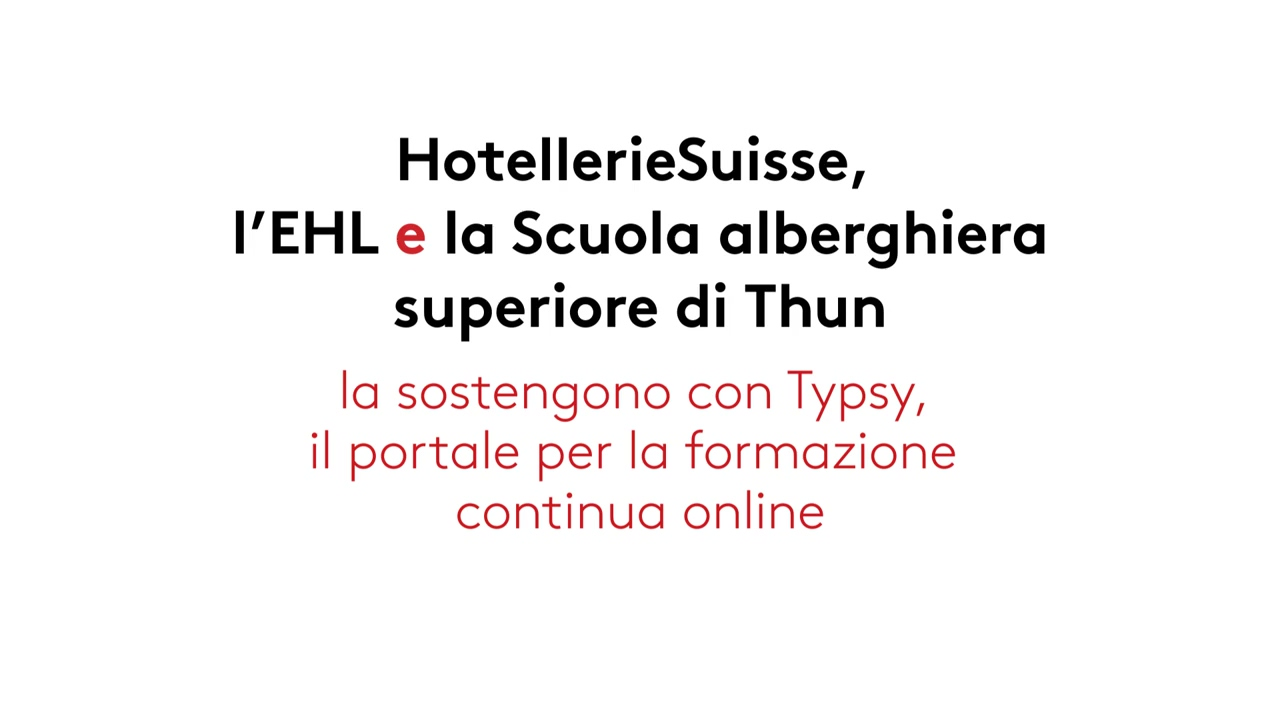 HotellerieSuisse Member Video - Italian