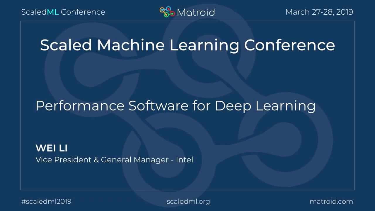 Wei Li - Performance Software for Deep Learning