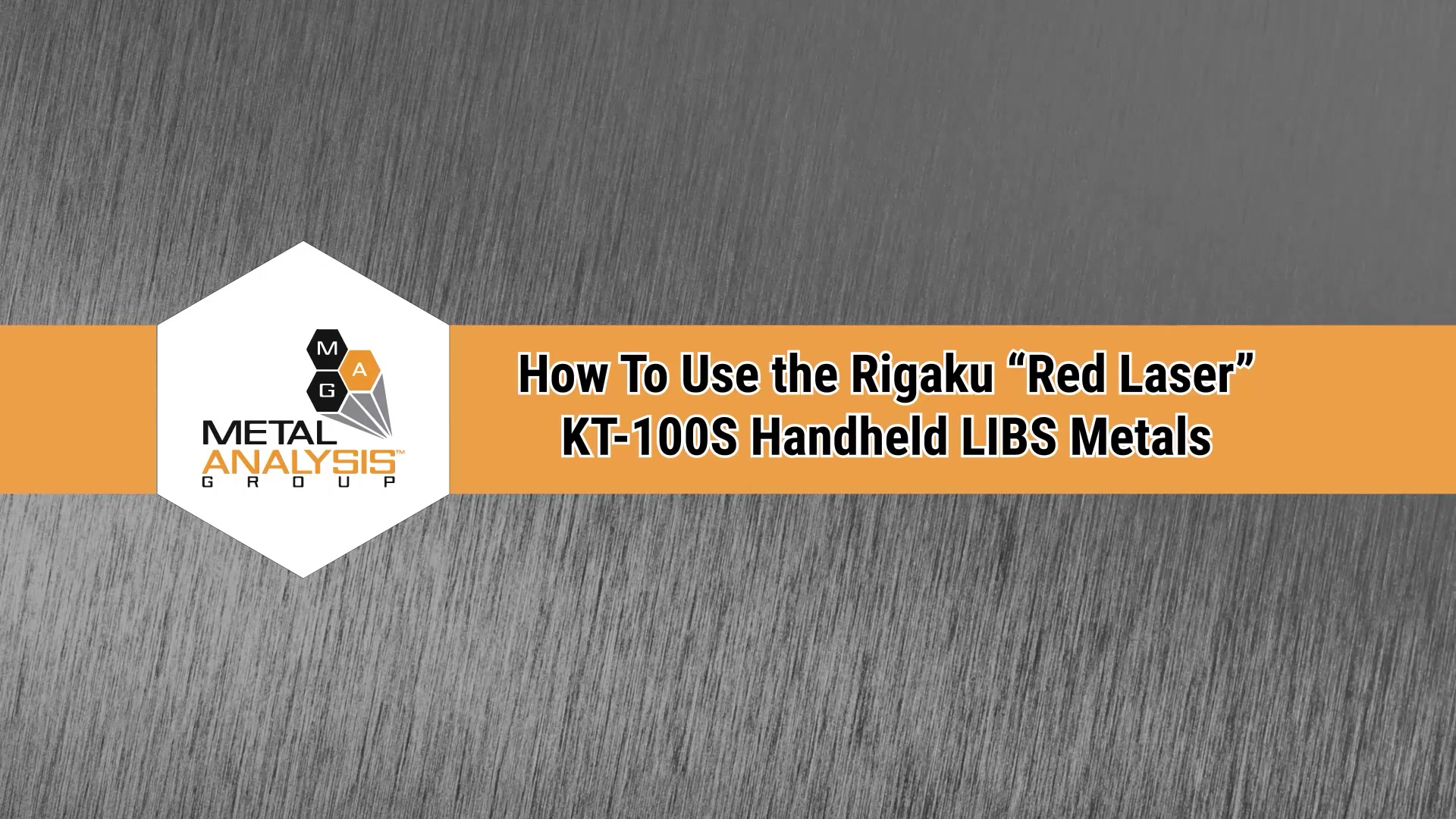 KT-100S Rigaku How-To Super Cut Part 1