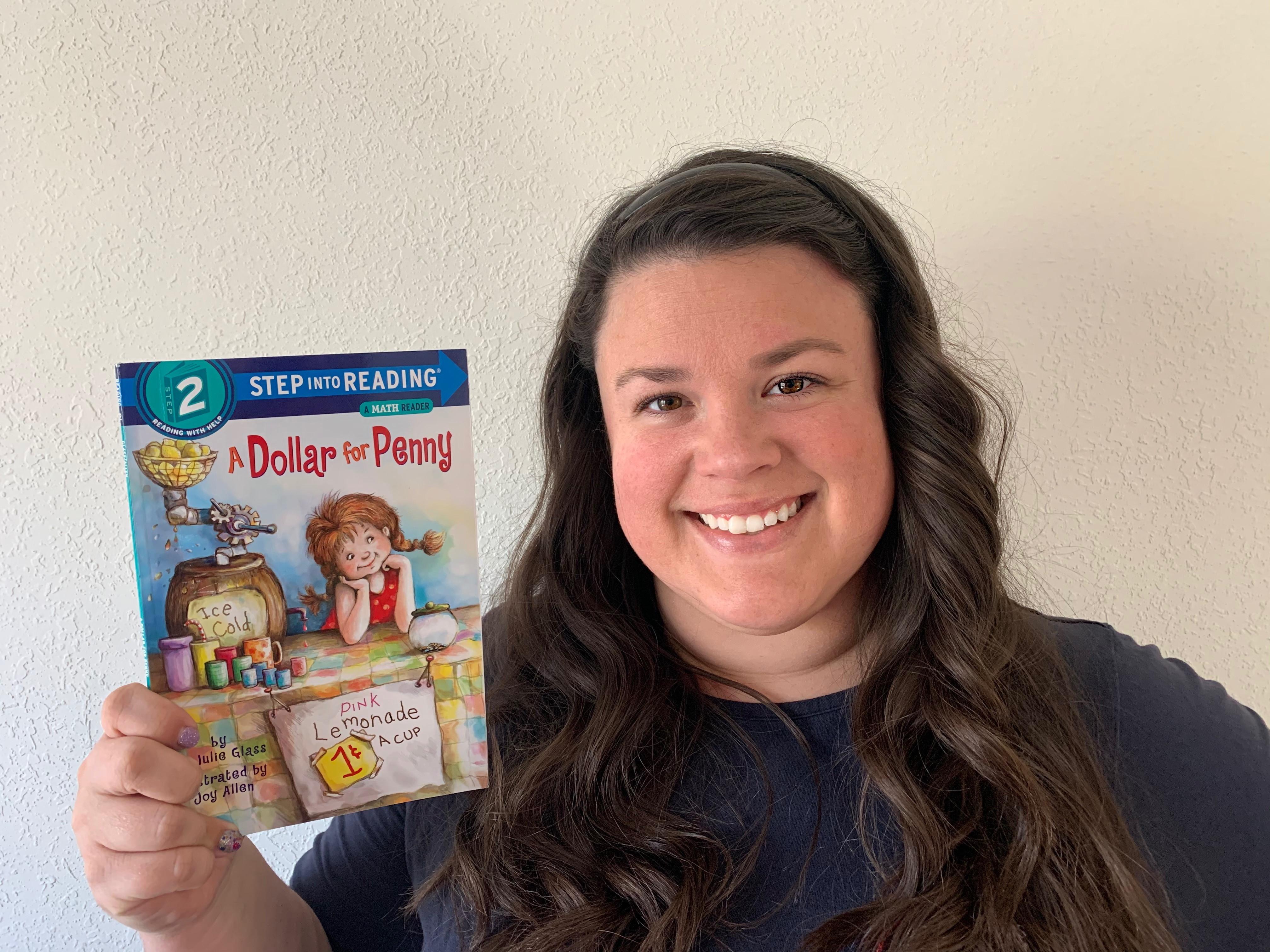 Smart Money Book Reading A Dollar for Penny - Erin Hagedorn