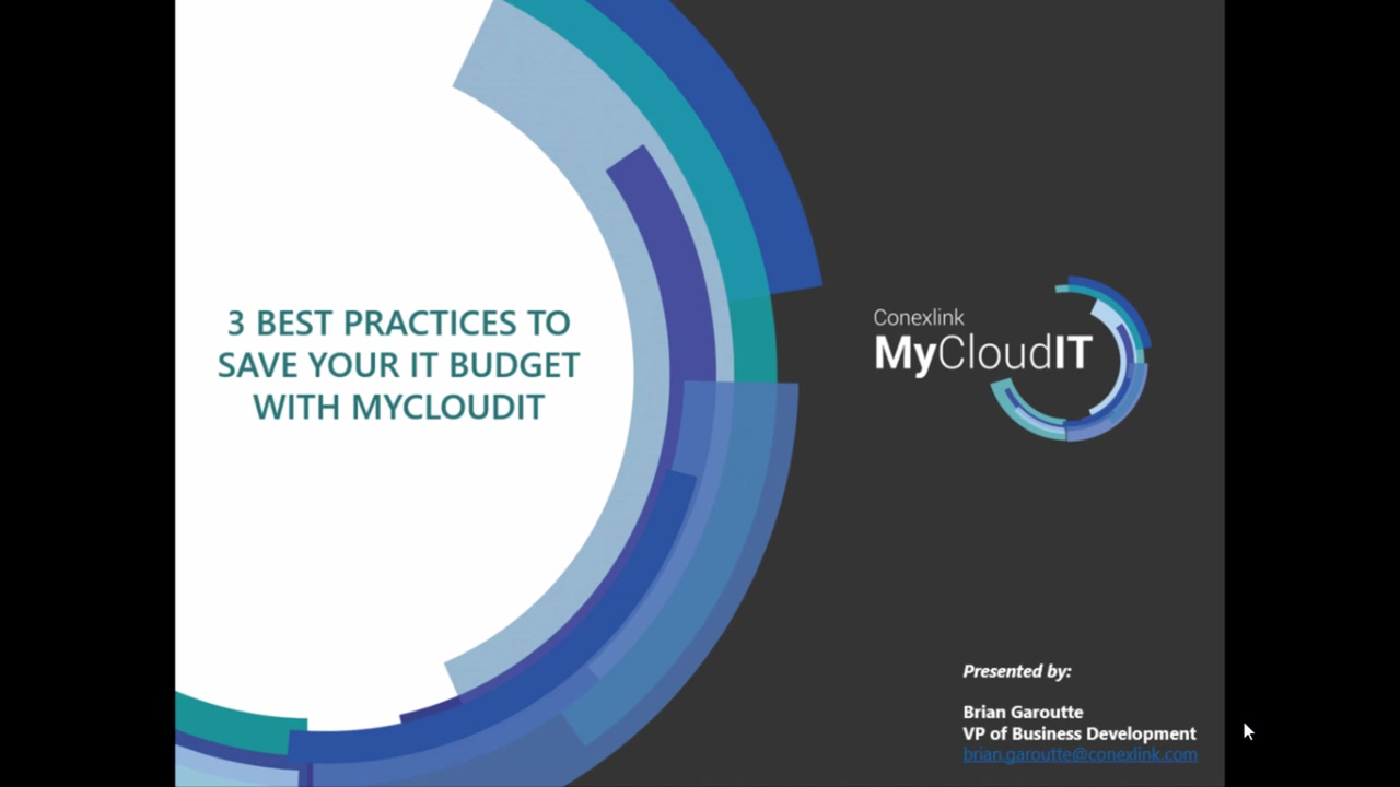 MyCloudIT 3 Best Practices to Manage Your Cloud Budget (1)