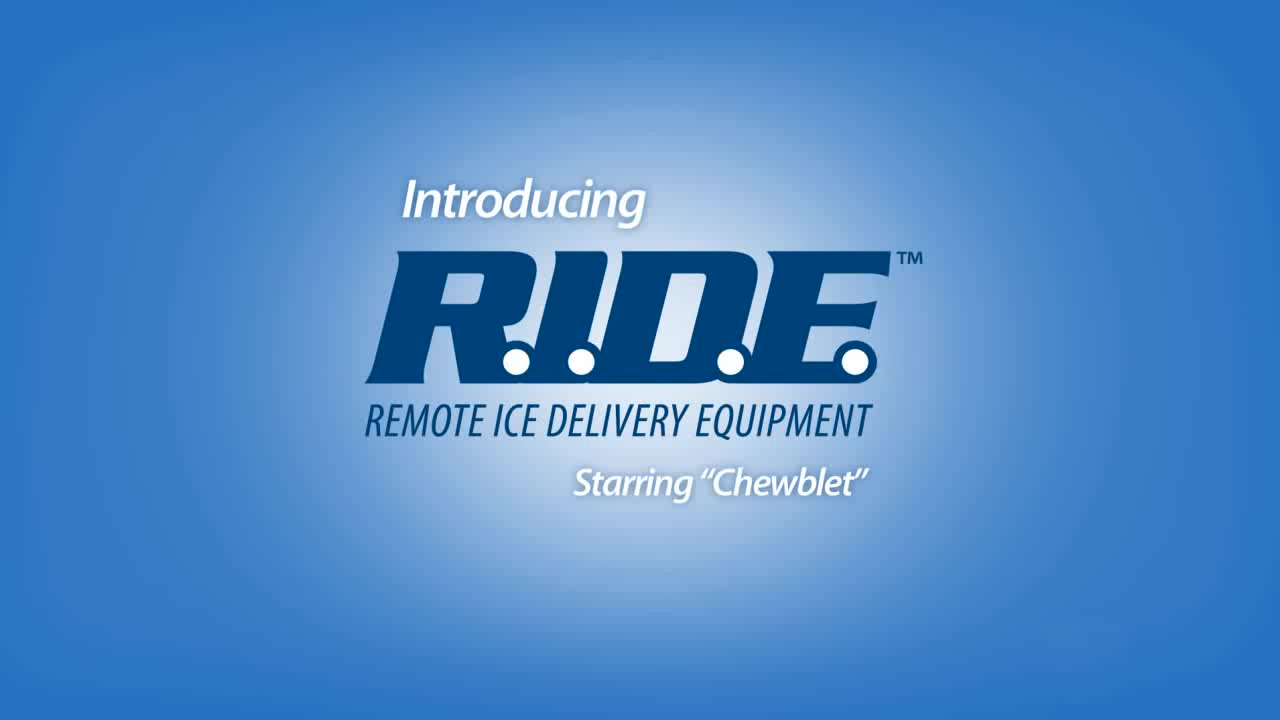 Follett RIDE remote ice delivery equipment
