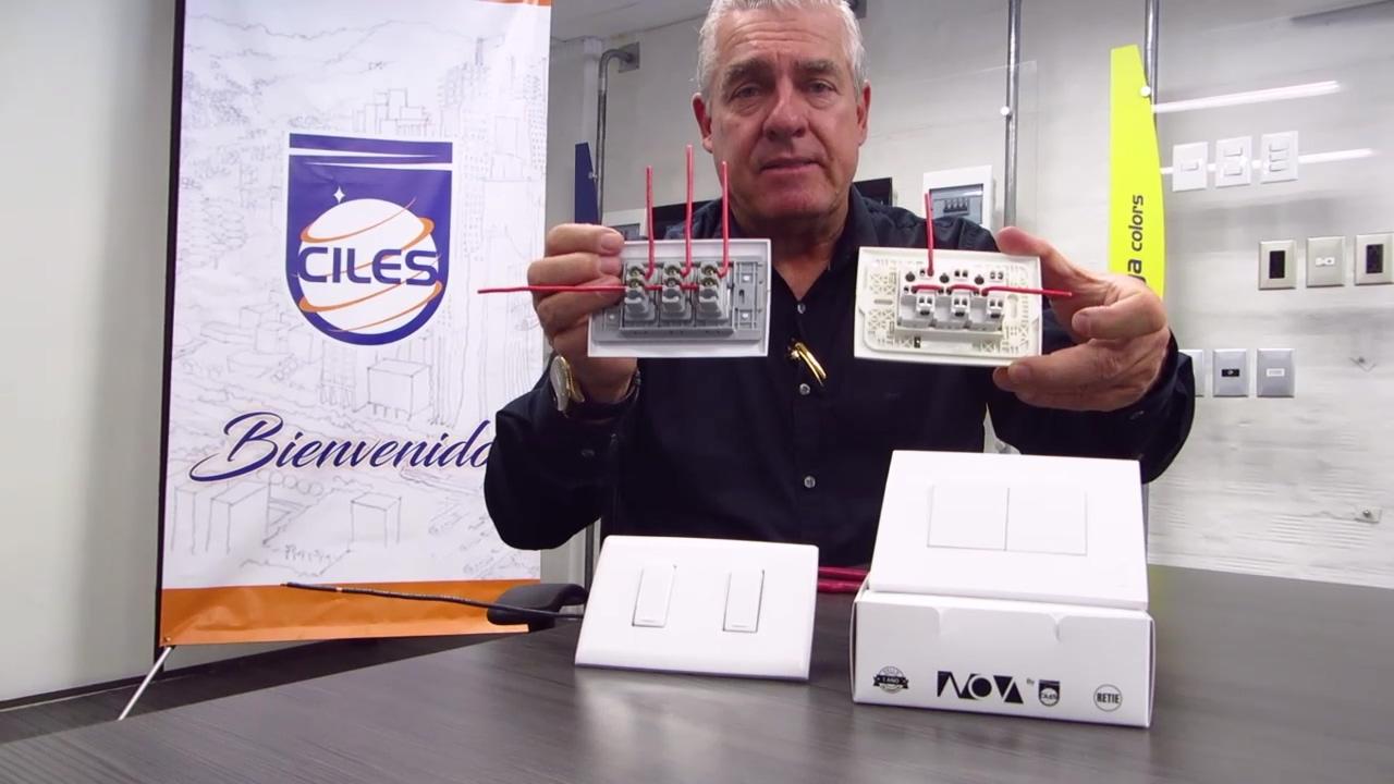 Ciles instala un interruptor de manera fácil y rápida