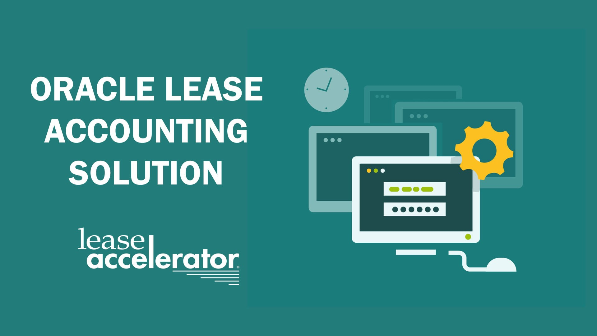 Oracle Lease Accounting by LeaseAccelerator