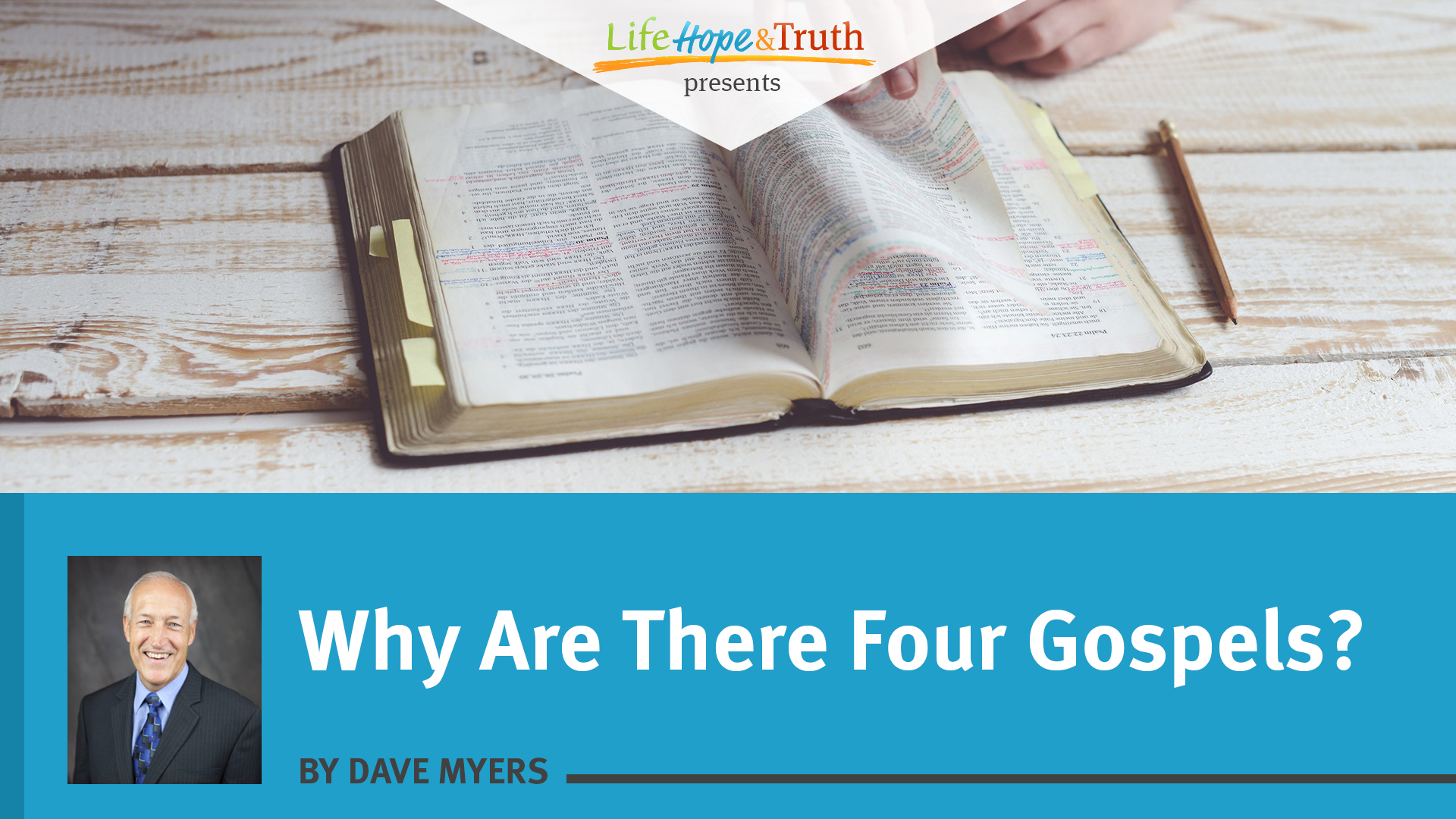 Why Are There Four Gospels?