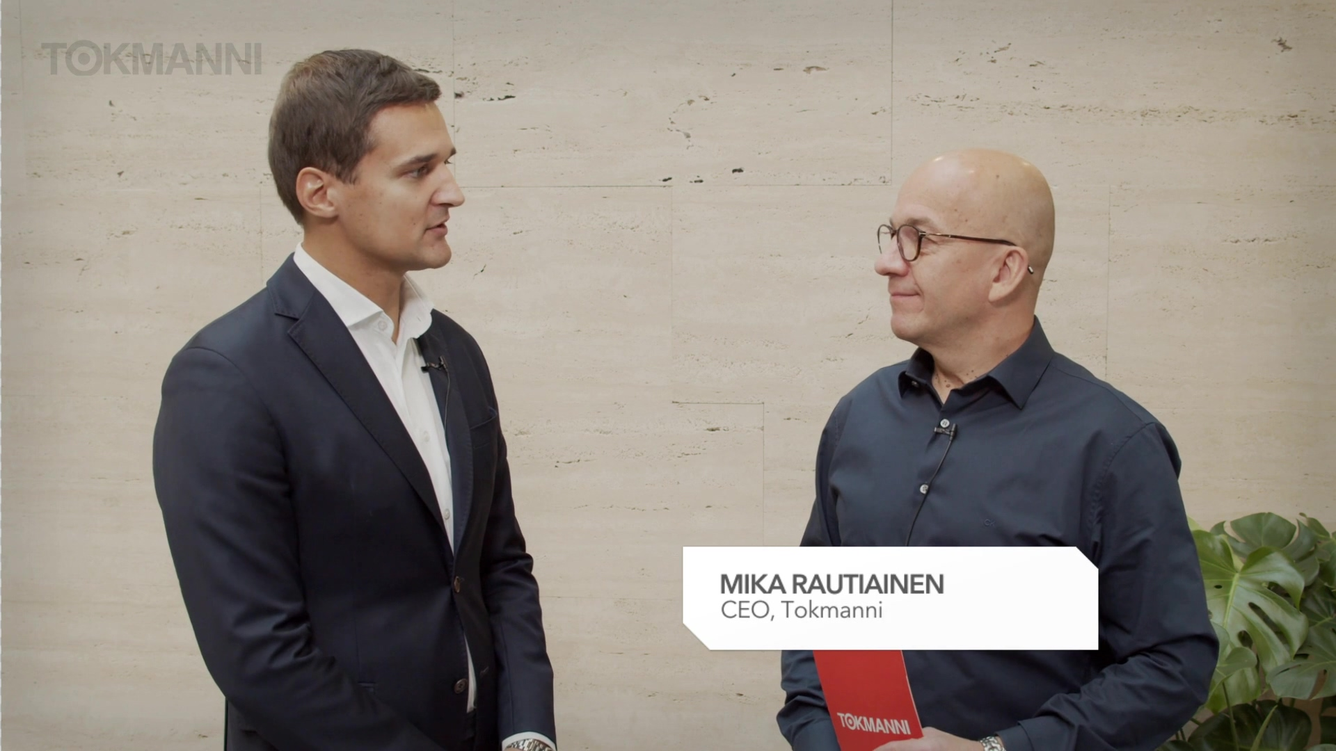 Tokmanni Q319 interview with Mika Rautiainen