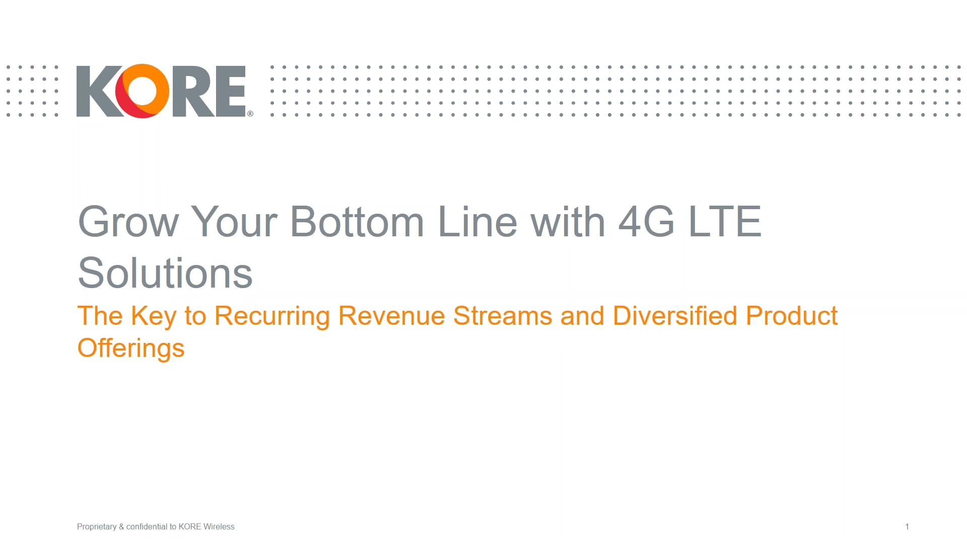 2019-10-09 10.27 Grow Your Bottom Line with 4G LTE