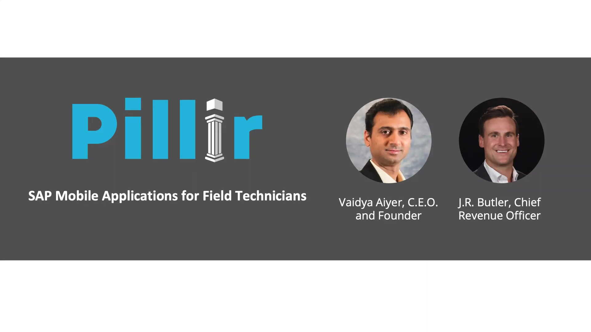 SAP Mobile applications for Field technicians - prerecorded