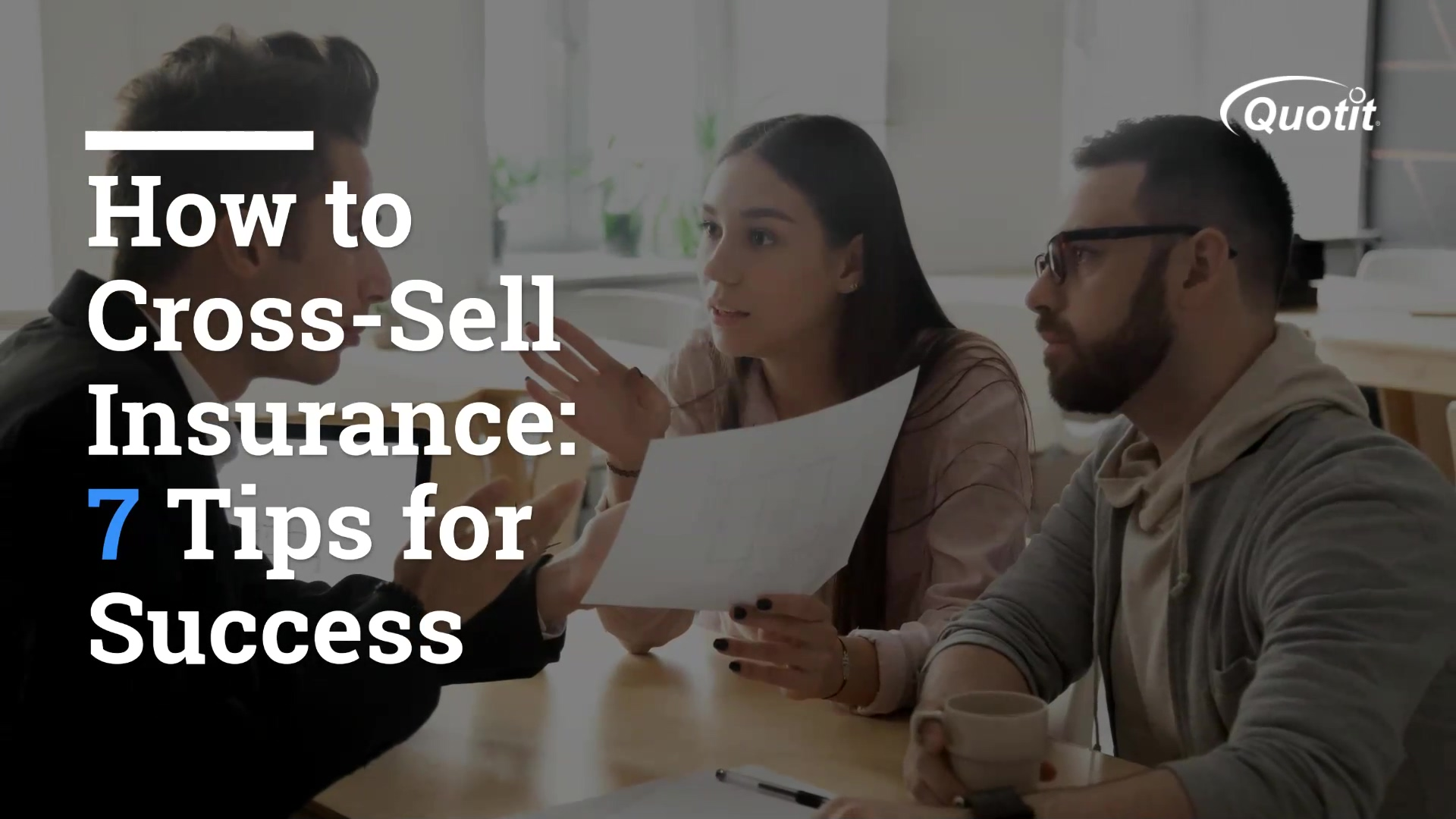 How to Cross Sell Insurance