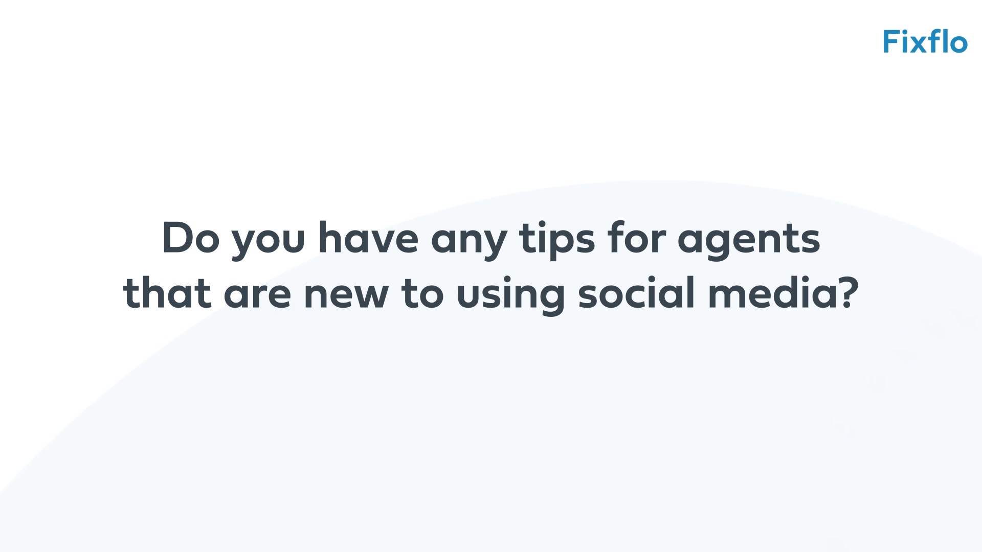 Chris Watkin - 6 - Tips for Social Media