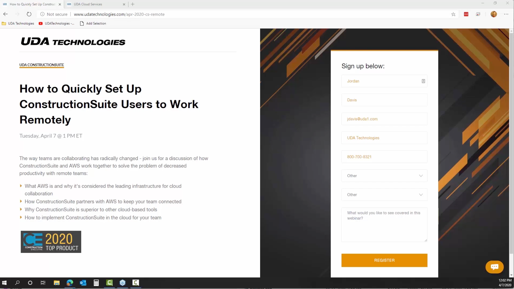 How to Quickly Set Up ConstructionSuite Users to Work Remotely