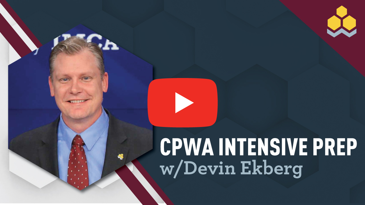 CPWA Intensive Prep with Devin Ekberg