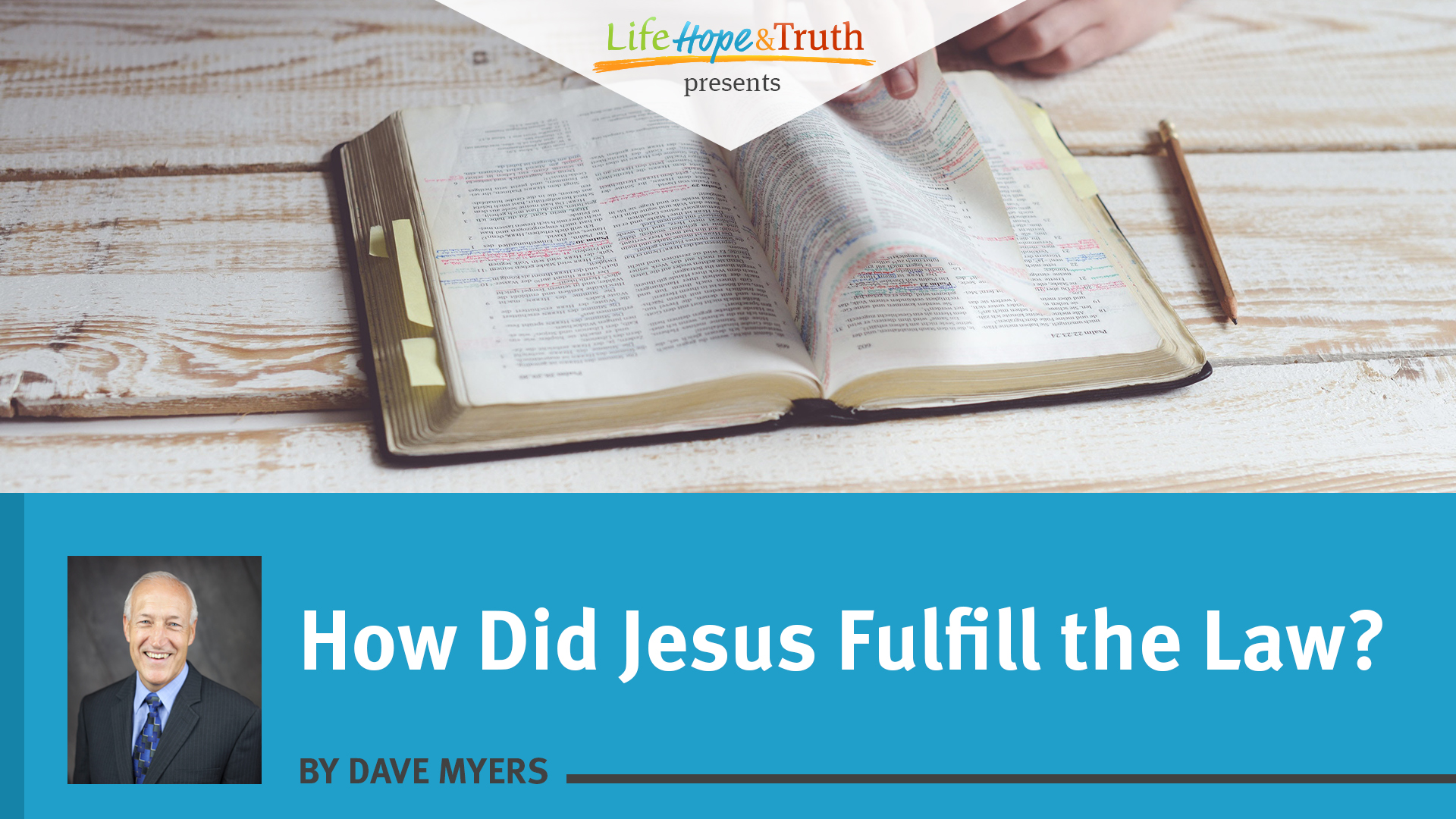 How Did Jesus Fulfill the Law?