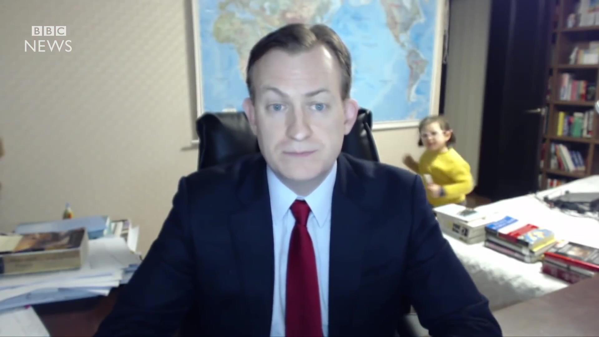 BBC News – Children Photobomb Presenter