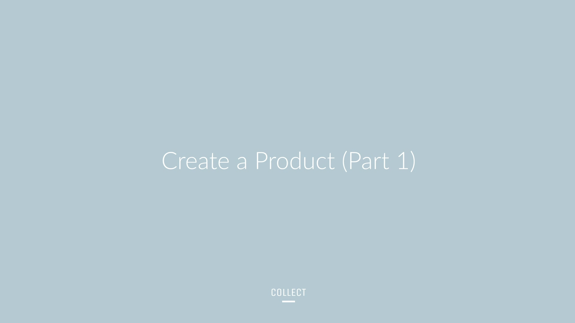 Brandboom Support - CREATE - Create a Product (Part 1)