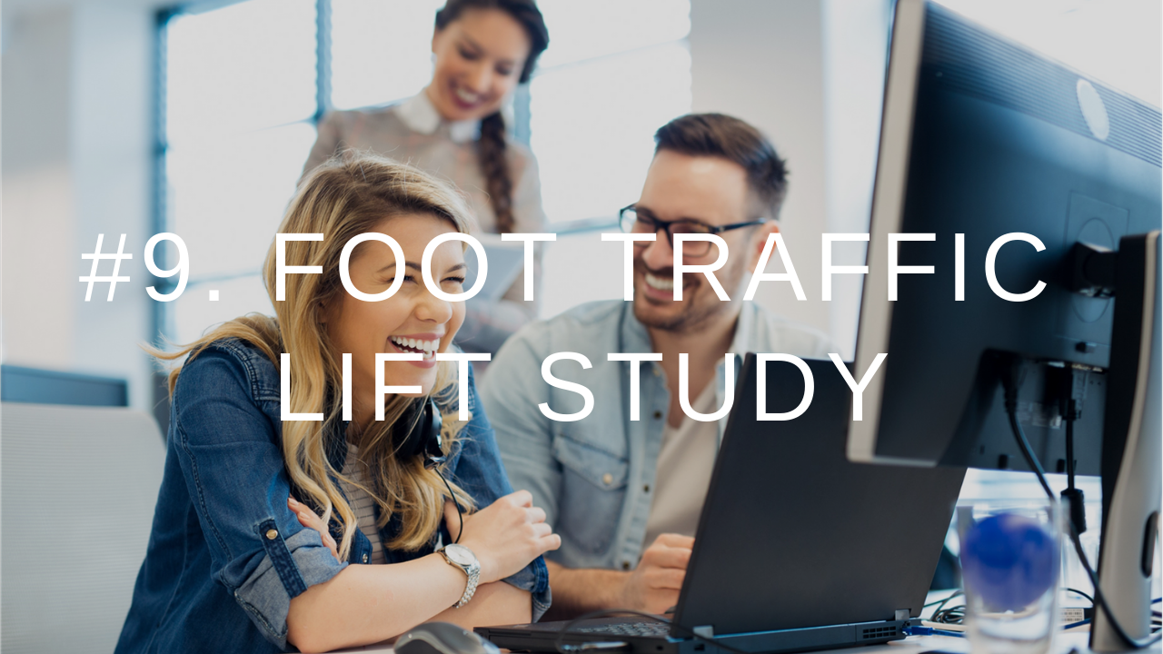 9IM Metrics 9. Foot Traffic
