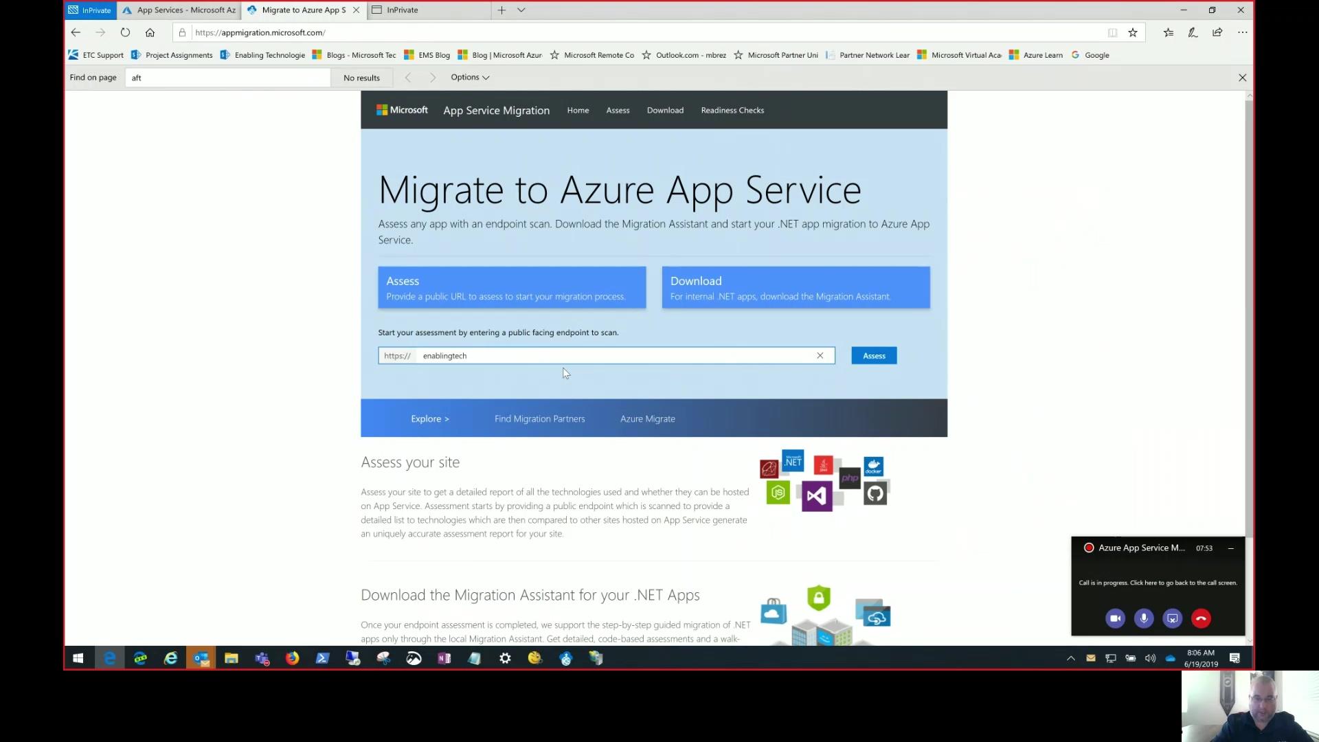 Azure App Service Migration