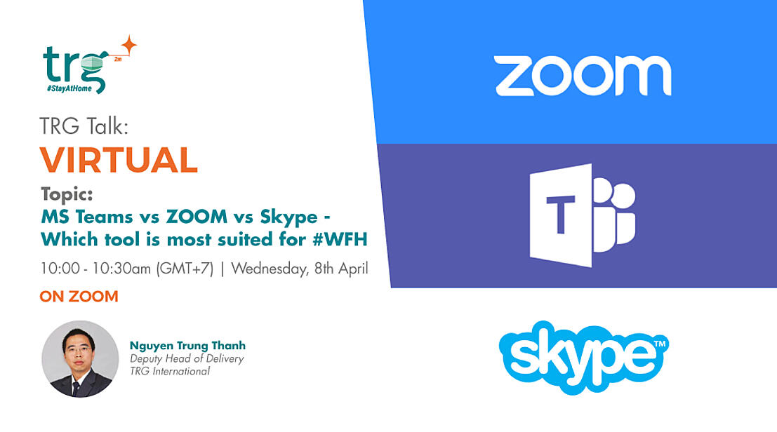 Teams vs Skype vs Zoom